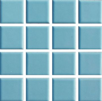 Waxman CG-470 Sky Blue - Ceramic Pool Tiles - 10 Sheet Pack